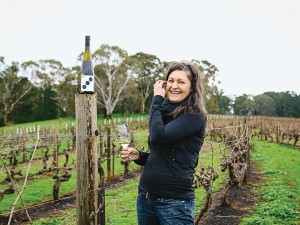 Photo: Lean Timms Kerri Thompson of Wines by KT - Clare Valley, Australia