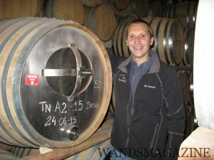 エル・エステコの醸造責任者アレハンドロ・ペパ