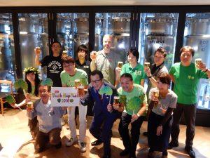 今年収穫した国産ホップでつくったビールで乾杯するイベント「Fresh Hop Fest 2016」には、全国のクラフトブルワリー19社が参加した