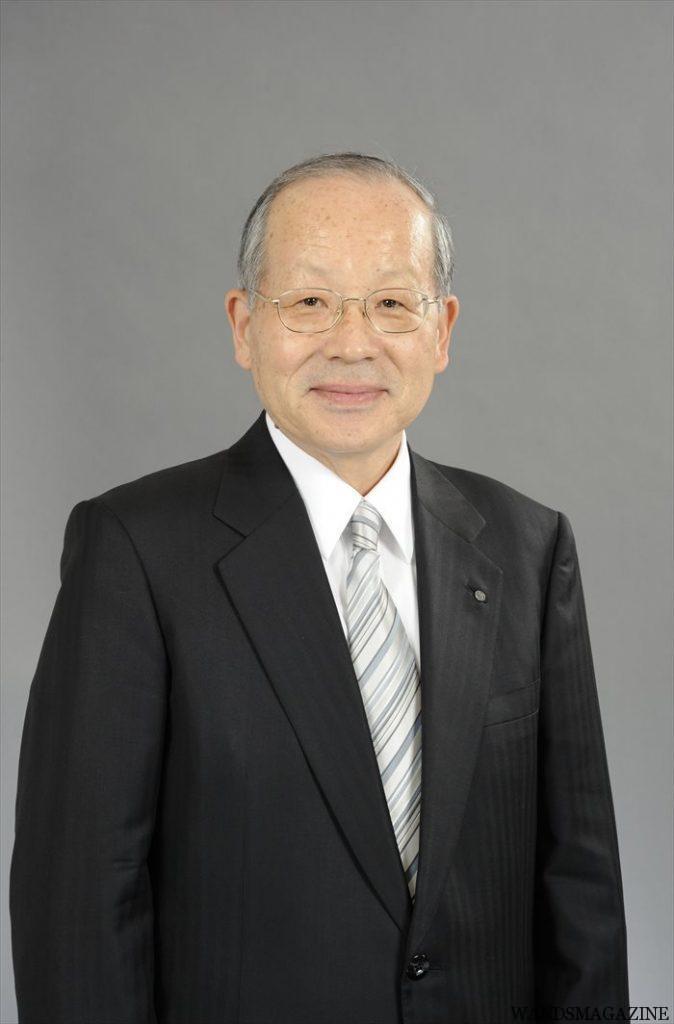 新理事長に就任した松沢幸一氏(明治屋社長)